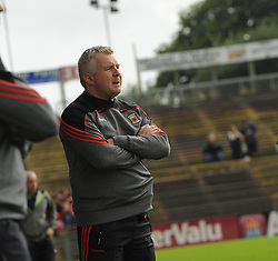 Mayo manager Stephen Rochford on the sideline.<br /> Pic Conor McKeown