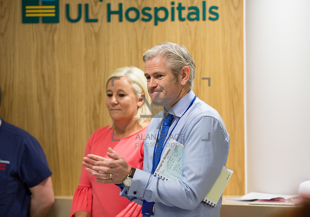 29.05. 2017.                                             <br /> IRELAND&rsquo;S largest and most advanced Emergency Department has opened this Monday at University Hospital Limerick.<br /> <br /> <br /> A &euro;24 million project (development and equipment costs), the ED spans 3,850 square metres of floor space, over three times the size of the old department. In 2016, UHL had the busiest ED in the country, with over 64,000 attendances. Picture: Alan Place