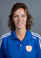 EINDHOVEN - Fysio MAAIKE BRUGMANS van Jong Oranje Dames, dat het WK in Duitsland zal spelen.  COPYRIGHT KOEN SUYK