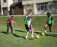 Dundee manager Paul Hartley directs training  - Day 5 of Dundee FC pre-season training camp in Obertraun, Austria<br /> <br />  - &copy; David Young - www.davidyoungphoto.co.uk - email: davidyoungphoto@gmail.com