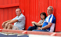 Bristol Rovers fans at the preseason friendly at Exeter City ahead of the Sky Bet League One season - Mandatory by-line: Robbie Stephenson/JMP - 16/07/2016 - FOOTBALL - St James Park - Exeter, England - Exeter City v Bristol Rovers - Pre-season friendly