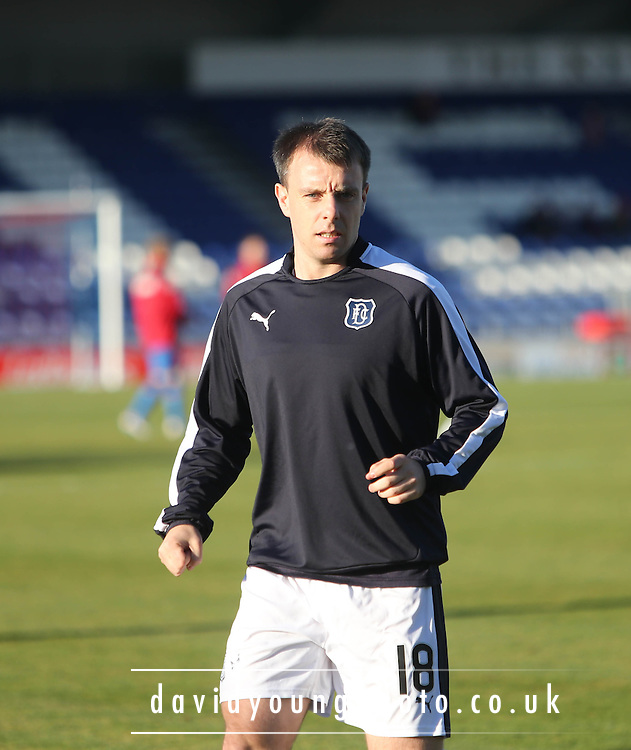 Dundee&rsquo;s Paul McGowan was team captain at Inverness  - Inverness Caledonian Thistle v Dundee at Caledonian Stadium, Inverness<br /> <br />  - &copy; David Young - www.davidyoungphoto.co.uk - email: davidyoungphoto@gmail.com