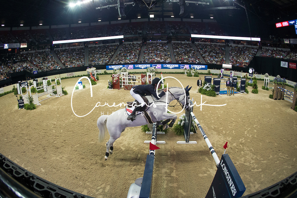 Allen Bertram, (IRL), Molly Malone V<br /> Longines FEI World Cup™ Jumping Final II<br /> Las Vegas 2015<br />  © Hippo Foto - Dirk Caremans<br /> 18/04/15