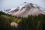 Historic buildings attest to the mining legacy surrounding Red Mountin Pass and the regions surrounding Silverton and Ouray Colorado.