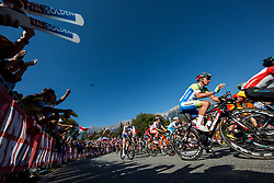 Luka Pibernik of Slovenia during the Men Elite Road Race at 258.5km Race from Kufstein to Innsbruck 582m at the 91st UCI Road World Championships 2018 / RR / RWC / on September 30, 2018 in Innsbruck, Austria. Photo by Vid Ponikvar / Sportida