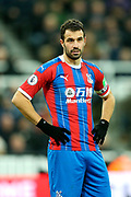 Luka Milivojevic (#4) of Crystal Palace during the Premier League match between Newcastle United and Crystal Palace at St. James's Park, Newcastle, England on 21 December 2019.