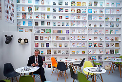 © Licensed to London News Pictures. 14/03/2017. LONDON, UK.  General view of the London Book Fair.  Photo credit: Cliff Hide/LNP