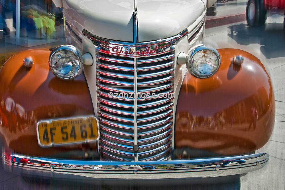 Pasadena Chevy Grill Classic Antique