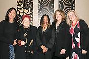 Kathy Gallegos, Gloria Orenstein, Renée Stout, Lynn Hershman Leeson, and Susan King
