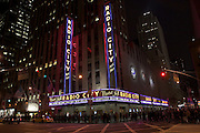 USA, NY, New york city, Manhattan, Radio City Music hall