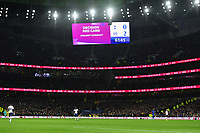 Football - 2019 / 2020 Premier League - Tottenham Hotspur vs. Chelsea<br /> <br /> Tottenham Hotspur's Son Heung-Min sent off after VAR, at The Tottenham Hotspur Stadium.<br /> <br /> COLORSPORT/ASHLEY WESTERN