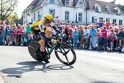 06-05-2016 NED: Giro d Italia 2016 Etappe 1, Apeldoorn<br /> De 99ste editie van de Ronde van Italië. De eerste etappe, een individuele tijdrit van 9,8 kilometer / Steven Kruijswijk NED - Team Lotto Jumbo