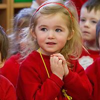 Lauren Burke, a pupil at the Ennis Montessori