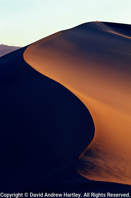 Sand Dune, Death Valley National Park, California
