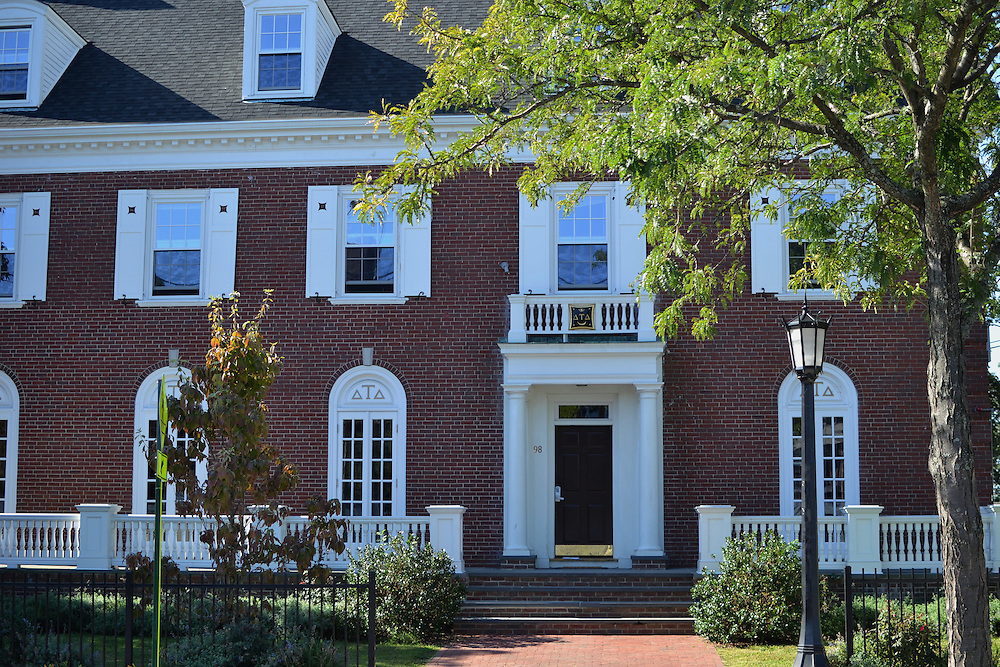 9/24/15 – Medford/Somerville, MA –The house of the Tufts fraternity Delta Tau Delta on Thursday, Sep. 24, 2015. (Sofie Hecht / The Tufts Daily)