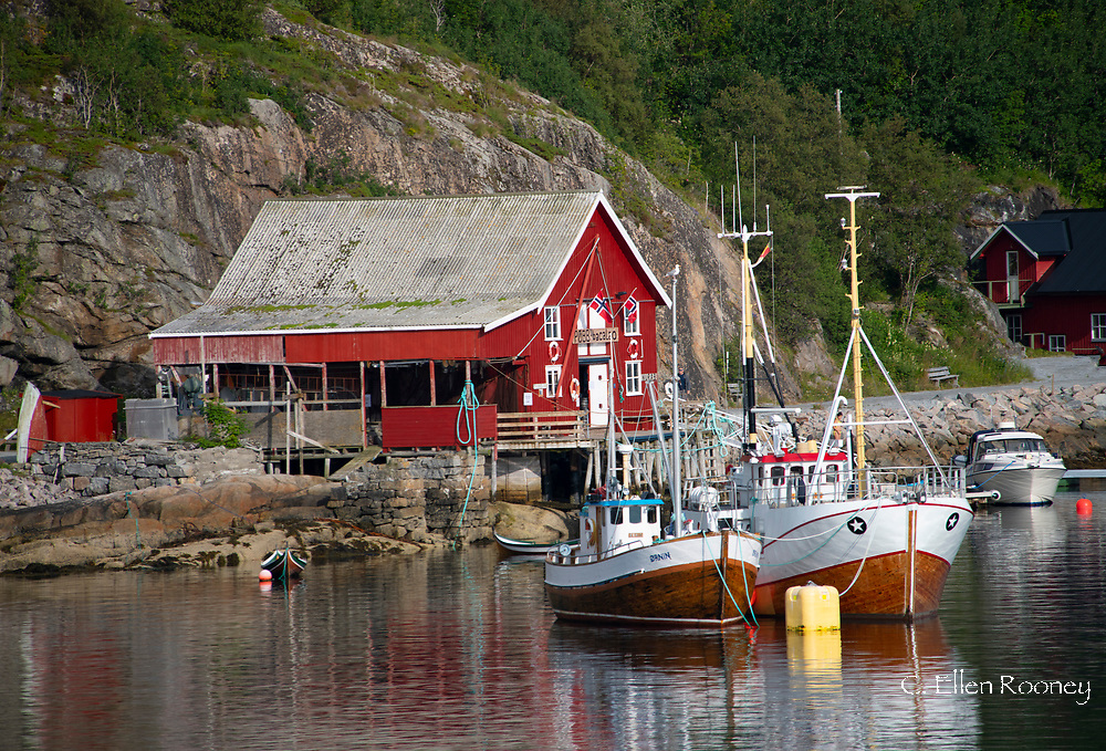 Bessaker, a fishing village north of Trondheim, , Trondelag, Norway, Europe