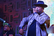 "Sir Mix-A-Lot and his crew perform in the Heineken House at the Coachella Music Festival in Indio California on Saturday, April 18, 2015. The singer reminisced about his past and rapped old sold finishing with his trademark ""Baby Got Back."""