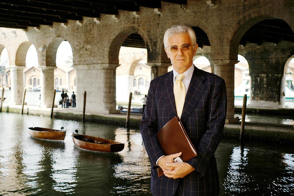 08 JUN 2005 - Venezia - La Biennale di Venezia: 51 Esposizione Internazionale d'Arte. Paolo Baratta. :-: Venice, Italy - 51st International Art Exhibition.