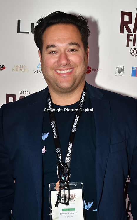 Director Richard Raymond attend 'Souls of Totality' film at Raindance Film Festival 2018, London, UK. 30 September 2018.