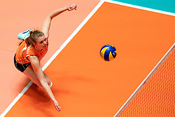 29-05-2019 NED: Volleyball Nations League Netherlands - Bulgaria, Apeldoorn<br /> Eline Timmerman #31 of Netherlands