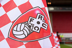 A Rotherham United mascot flag before kick-off - Mandatory by-line: Ryan Crockett/JMP - 16/12/2017 - FOOTBALL - Aesseal New York Stadium - Rotherham, England - Rotherham United v Plymouth Argyle - Sky Bet League One