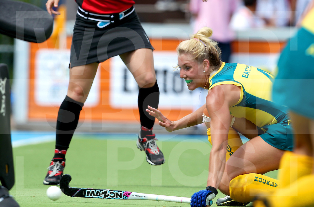 Womens Champions Trophy, Amsterdam 2011.26062011 Day 2 Australia v New Zealand.Casey Eastham scores Australia's second goal.Credit: Grant Treeby.Editorial use only(No Archiving)