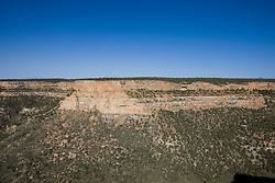 Navajo Canyon Overlook, Mesa Verde National Park, near Cortez, Colorado.