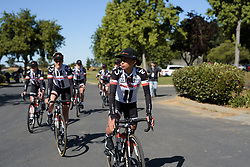 Coryn Rivera leads Sunweb to sign on at Amgen Breakaway from Heart Disease Women's Race empowered with SRAM (Tour of California) - Stage 3. A 118km road race from Elk Grove to Sacramento, USA on 13th May 2017.
