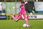 Forest Green Rovers goalkeeper Sam Russell(23) during the Vanarama National League match between Forest Green Rovers and Lincoln City at the New Lawn, Forest Green, United Kingdom on 19 November 2016. Photo by Shane Healey.