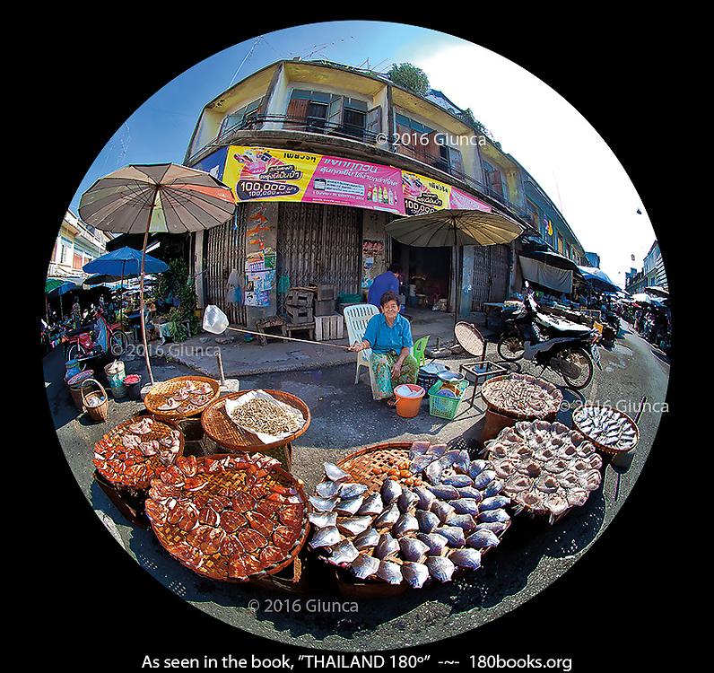Fish Vendor at Tha Pho Market