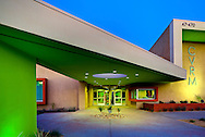 Coachella Valley Rescue Center CVRC). Designed by Architect Philip Smith.