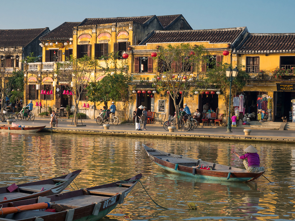 Asia, Vietnam, Hoi An, old town historic district.  UNESCO World Heritage Site.