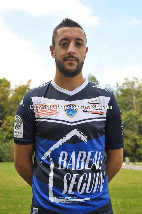Jonathan Martins Perreira - 03.09.2014 - Photo Officielle Troyes - <br /> Photo : Philippe Le Brech / Icon Sport
