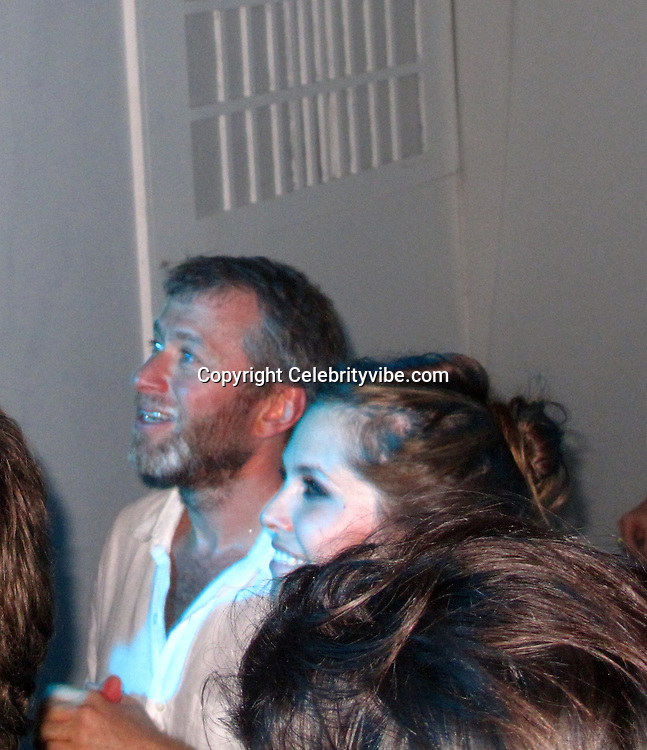 **EXCLUSIVE**Roman Abramovich and Dasha Zhukova dancing. Roman Abramovich New Years Eve Party.Roman Abramovich Villa.St. Barth, Caribbean.Friday, December 31, 2010.Photo By CelebrityVibe.com.To license this image please call (212) 410 5354; or Email: CelebrityVibe@gmail.com ; website: www.CelebrityVibe.com