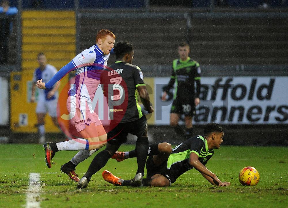 Rory Gaffney of Bristol Rovers - Mandatory by-line: Neil Brookman/JMP - 10/12/2016 - FOOTBALL - Memorial Stadium - Bristol, England - Bristol Rovers v Bury - Sky Bet League One