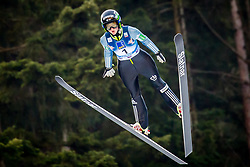 Katra Komar (SLO) during 1st Round at Day 1 of FIS Ski Jumping World Cup Ladies Ljubno 2018, on January 27, 2018 in Ljubno ob Savinji, Ljubno ob Savinji, Slovenia. Photo by Ziga Zupan / Sportida