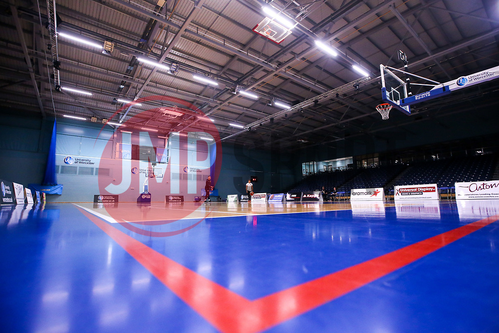 University of Worcester Arena, home to Worcester Wolves - Mandatory by-line: Robbie Stephenson/JMP - 16/09/2019 - BASKETBALL - University of Worcester Arena - Worcester, England - Worcester Wolves v Bristol Flyers - Preseason Friendly