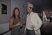 Elly Webster and Patrick Keogh, Cartier Polo Players Party, The Collection, 264 Brompton Road, London, SW3, 25 July 2006. ONE TIME USE ONLY - DO NOT ARCHIVE  © Copyright Photograph by Dafydd Jones 66 Stockwell Park Rd. London SW9 0DA Tel 020 7733 0108 www.dafjones.com