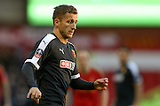 Watford midfielder Almen Abdi  during the The FA Cup fourth round match between Nottingham Forest and Watford at the City Ground, Nottingham, England on 30 January 2016. Photo by Simon Davies.