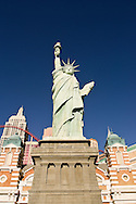 The Statue of Liberty at the New York, New York Hotel on the Las Vegas Strip