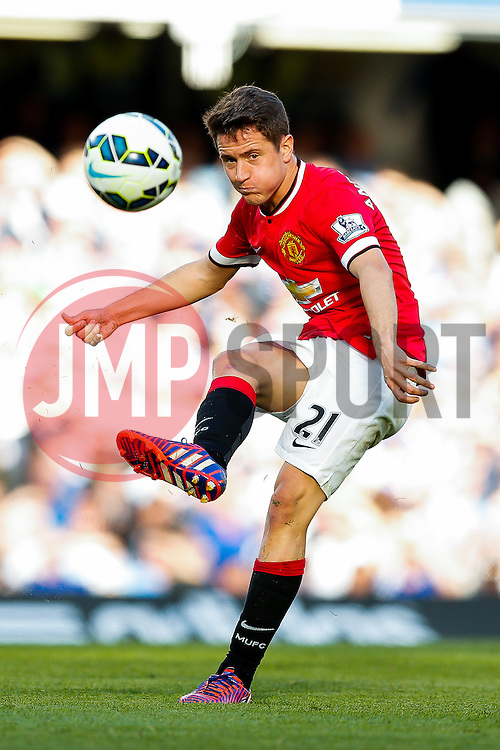 Ander Herrera of Manchester United in action - Photo mandatory by-line: Rogan Thomson/JMP - 07966 386802 - 18/04/2015 - SPORT - FOOTBALL - London, England - Stamford Bridge - Chelsea v Manchester United - Barclays Premier League.