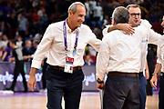Ettore Messina<br /> Nazionale Italiana Maschile Senior<br /> Eurobasket 2017 - Final Phase - Round of 16<br /> Finlandia Italia Finland Italy<br /> FIP 2017<br /> Istanbul, 09/09/2017<br /> Foto M.Ceretti / Ciamillo - Castoria