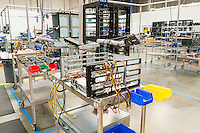 Interior of computer manufacturing industry