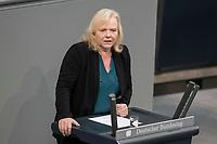 08 NOV 2018, BERLIN/GERMANY:<br /> Ulrike Schielke-Ziesing, MdB, AfD, haelt eine Rede,  Bundestagsdebatte zum Gesetzentwurf der Bundesregierung ueber Leistungsverbesserungen und Stabilisierung in der gesetzlichen Rentenversicherung, Plenum, Deutscher Bundestag<br /> IMAGE: 20181108-01-002<br /> KEYWORDS: Sitzung