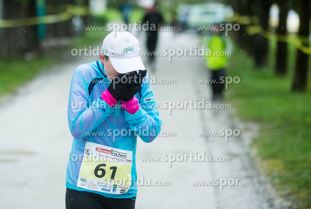 "Runners during 7th charity running event ""Formaraton 2015"", on April 18, 2015 in Tivoli, Ljubljana, Slovenia. Photo by Vid Ponikvar / Sportida"