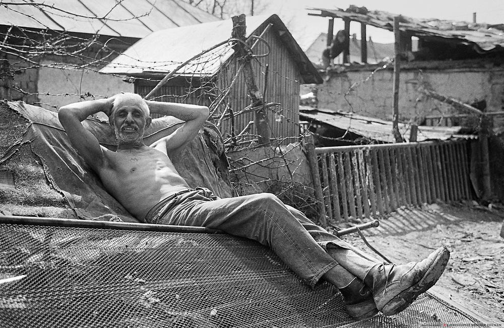 Hermanovce - a Roma gypsie settlement