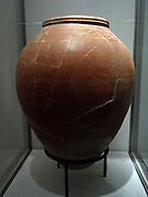 Large Jar Comes from Souttoukeny. 2nd century BC. terracotta from India