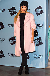 © Licensed to London News Pictures. 16/11/2016. SARAH-JANE CRAWFORD attends the Skate At Somerset House with Fortnum & Mason VIP Party. London, UK. Photo credit: Ray Tang/LNP