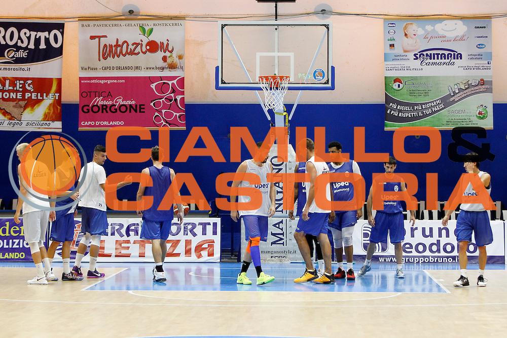 Betaland Capo D'Orlando allenamento precampionato<br /> Lega Basket Serie A 2016/2017 <br /> Capo D'Orlando 02/09/2016<br /> Foto Ciamillo-Castoria