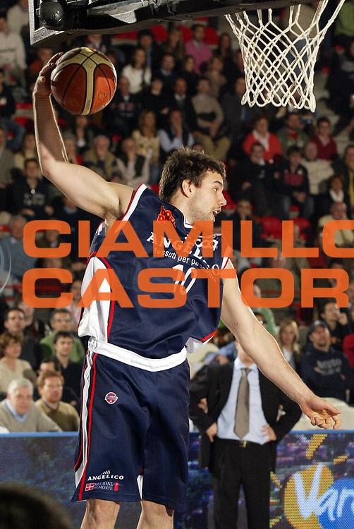 DESCRIZIONE : Varese Lega A1 2006-07 Whirlpool Varese Angelico Biella<br /> GIOCATORE : Porta<br /> SQUADRA : Angelico Biella<br /> EVENTO : Campionato Lega A1 2006-2007 <br /> GARA : Whirlpool Varese Angelico Biella<br /> DATA : 29/03/2007 <br /> CATEGORIA : Rimbalzo<br /> SPORT : Pallacanestro <br /> AUTORE : Agenzia Ciamillo-Castoria/G.Cottini